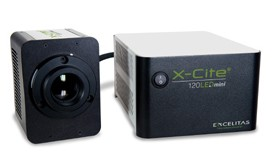 X-CITE® 120LEDMINI – Compact and Simple to Use Broadband Illumination